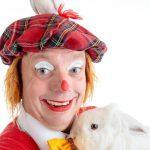 Ballonklovnen Fubbi show med due og kanin