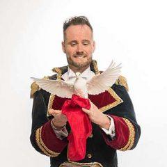 Den Spanske Guvernør med due