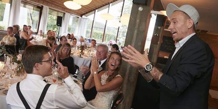 Fantastisk underholdning til bryllup