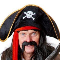 Piraten Long John laver sjov underholdning for børn